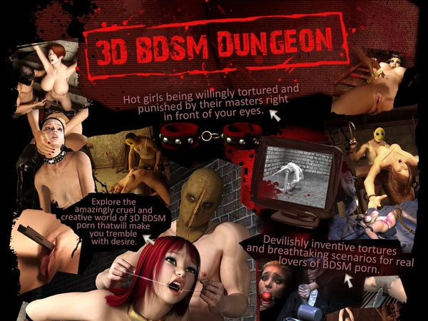 3D BDSM Dungeon With Online Check