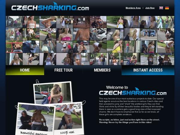 Czech Sharking With Iphone