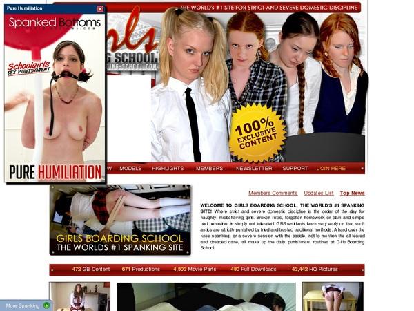Girls-boarding-school.com Payment Methods