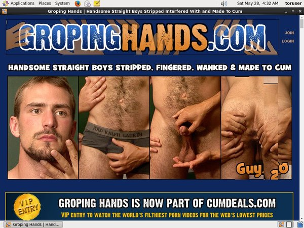 Gropinghands.com Passworter