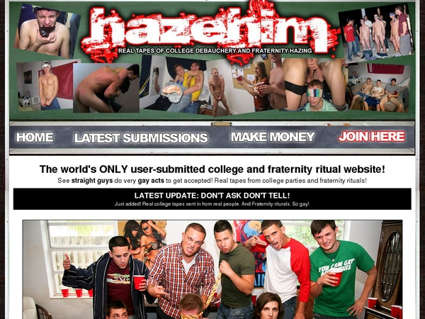 Join Hazehim.com For Free