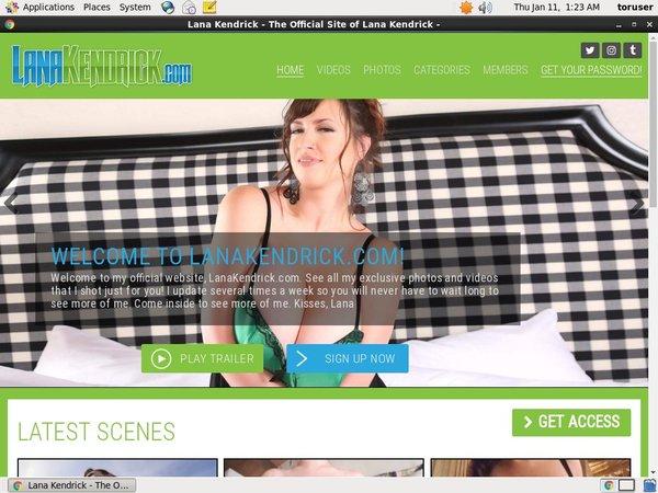 Lanakendrick.com Special Discount