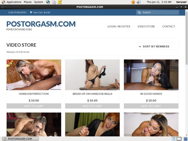Post Orgasm Net