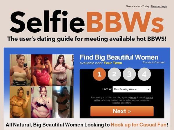 Selfie BBWs Accont