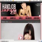 Handjob Japan Login Info