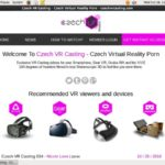 Free Account Of Czech VR Casting
