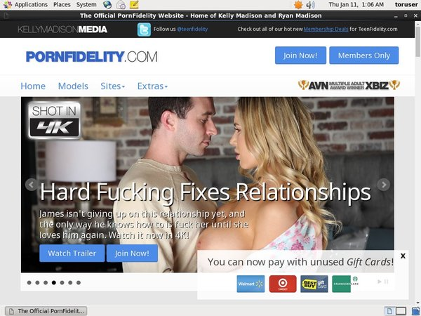 Porn Fidelity Account Gratis