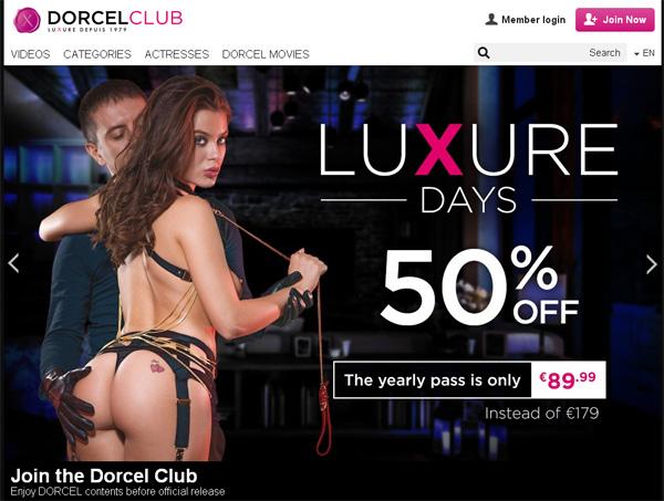 Dorcel Club Rabatt