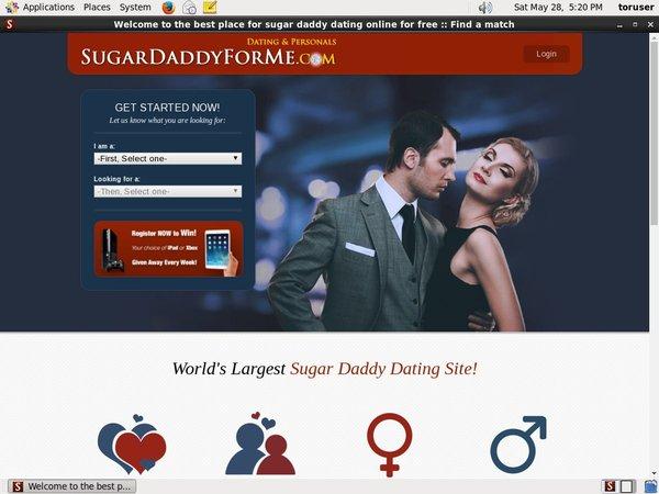 Sugardaddyforme.com Free Accounts And Passwords