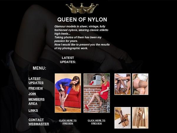 Buy Queen Of Nylon Account