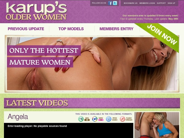 Free Account On Karups OW