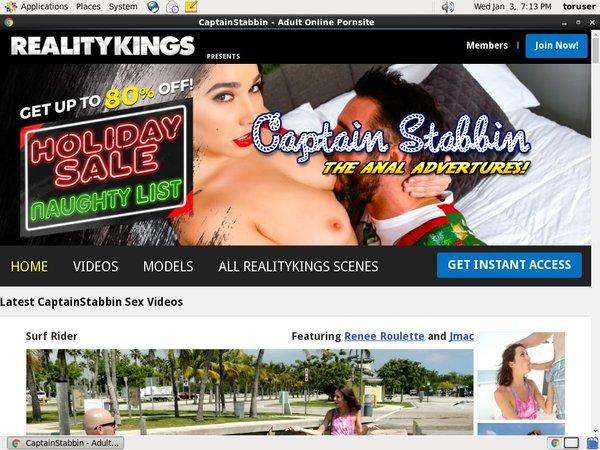 Captainstabbin.com On Sale