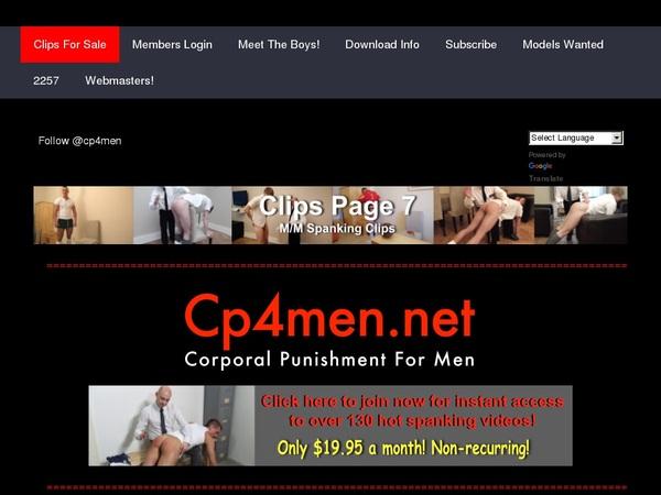 CP 4 Men Teen