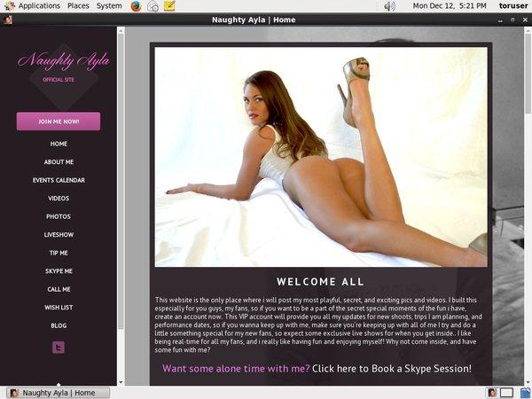 Naughtyayla.com With JCB Card