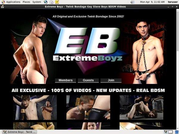Extremeboyz.com Renew Password